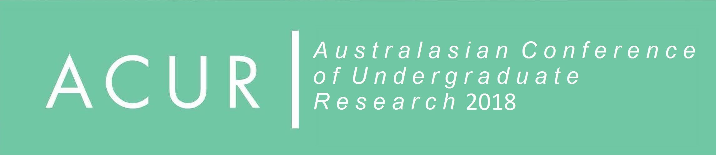 Australasian Conference on Undergraduate Research Logo