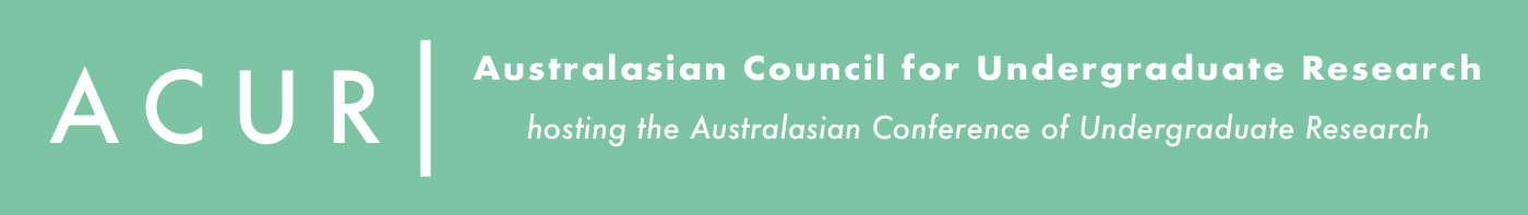 Australasian Council of Undergraduate Research Logo
